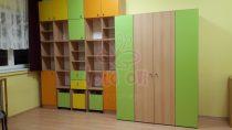 Óvodai fektetőtároló szekrény