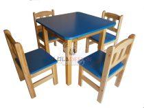 GOOFY óvodai szék színes ülőlappal