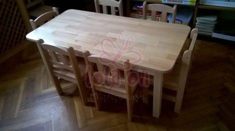 MAMBÓ óvodai bükk asztal