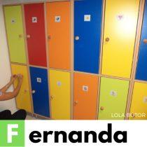 FERNANDA Óvodai öltözőszekrény