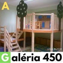 LOLA 450 óvodai galéria almafa dekorral