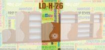 LOLA Hullámos ajtós szekrény elem