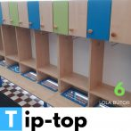 TIP-Top óvodai öltözőszekrény
