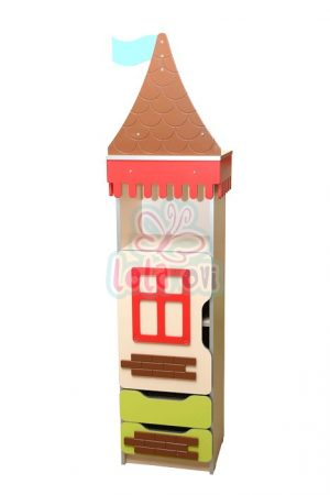 Kastély torony-2 szekrényelem