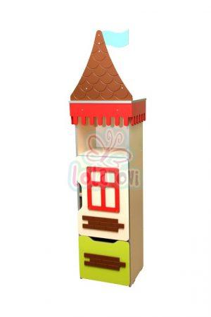 Kastély torony-3 szekrényelem