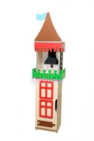 Kastély torony-4 szekrényelem