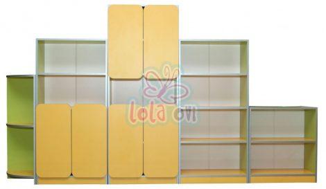 Melania szekrénysor