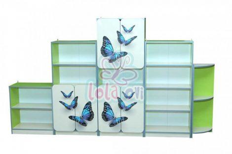 Melania pillangós szekrénysor