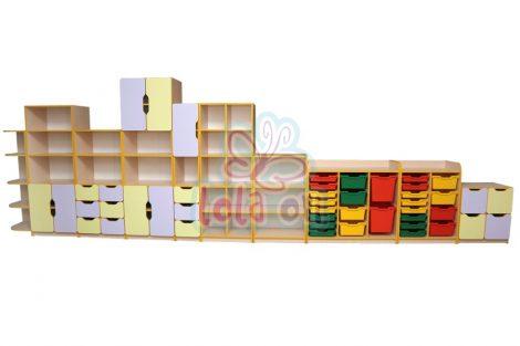 Suli szekrénysor (10 elemes)