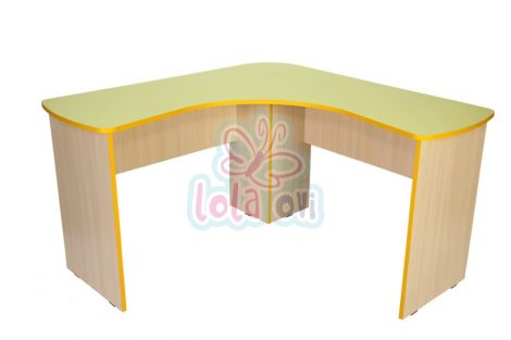 Suli tanári asztal (sarok)