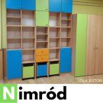 Nimród óvodai csoportszoba szekrény