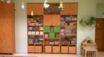 Opus natúr színű csoportszoba szekrény