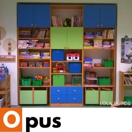 Opus csoportszoba szekrény