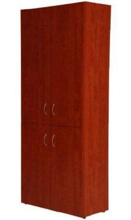 4 ajtós zárt irattartó szekrény