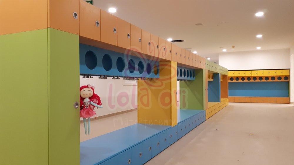 Egyedi óvodai szekrény