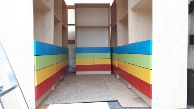 Patrik óvodai szekrény